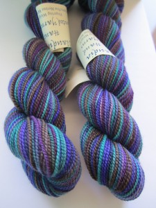 Gorgeous Claudia Hand Painted yarn to be given away in celebration of 99 group members on Ravelry