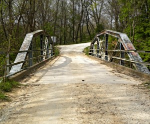 Crybaby Bridge:  It might not look so scary in the daytime, but don't go there at night!  Unless you dare...