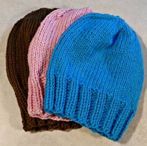 Hats to be donated to the  needy