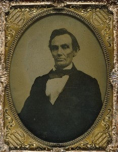 Picture of Lincoln taken at the local photographer in Monmouth