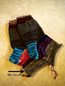 Laurie's sock circle socks