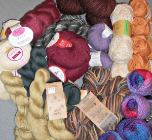 Prize Yarn donated from my stash