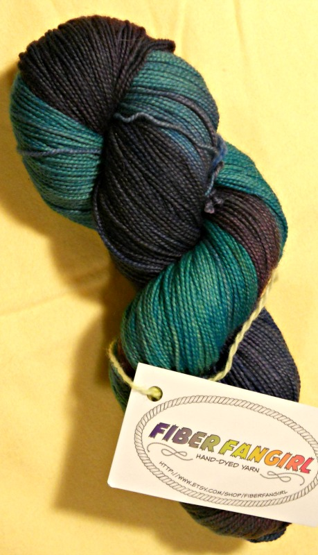 80/20 superwash BFL/nylon fingering weight