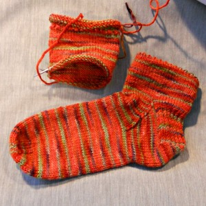 Picot Edge Socks